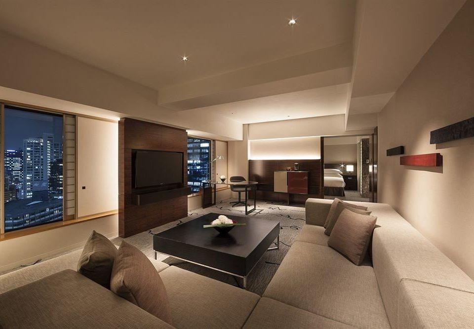 property living room condominium home Suite daylighting yacht Bedroom flat