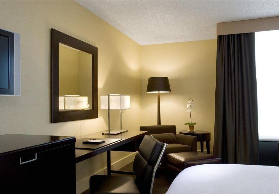 property desk Suite condominium living room home Bedroom
