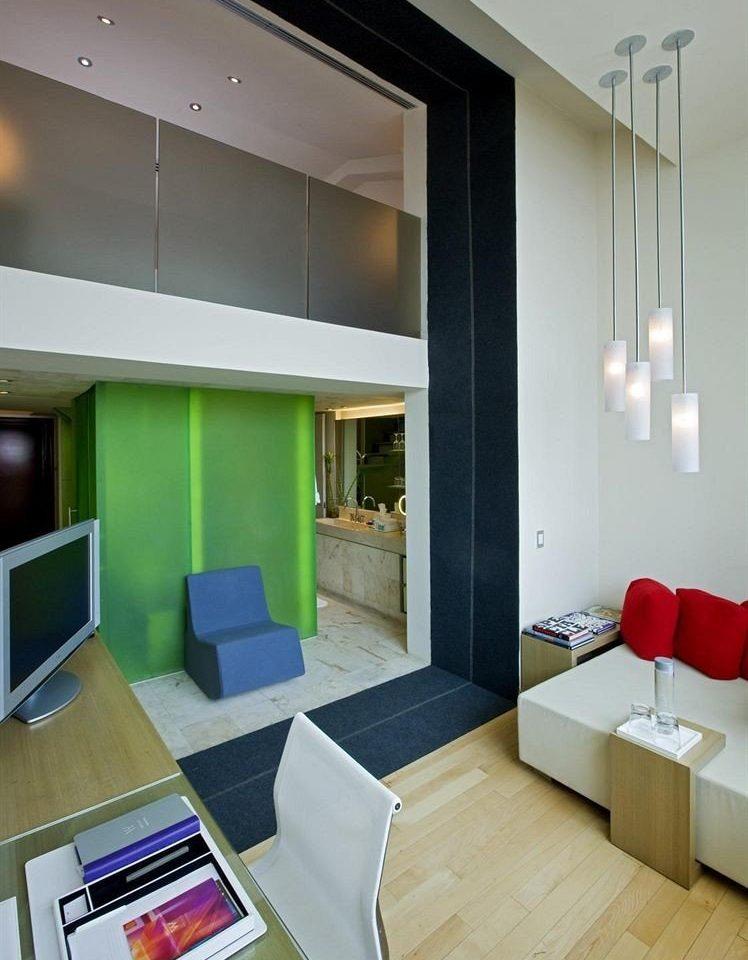 property living room condominium home Suite loft Bedroom