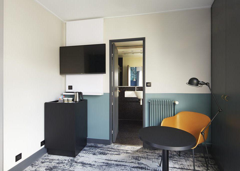 property Suite living room home condominium loft Bedroom