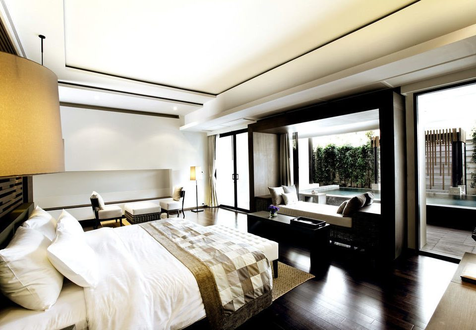 property condominium living room Bedroom Suite home lighting