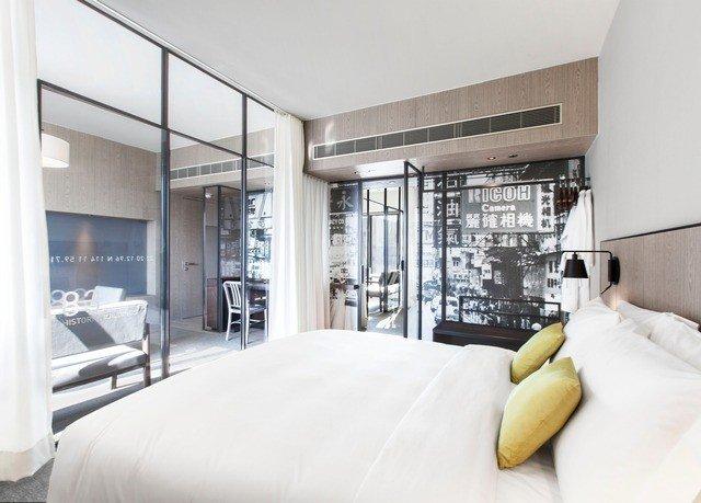 property condominium home loft Suite living room Bedroom