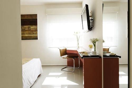 property home Suite living room condominium Bedroom
