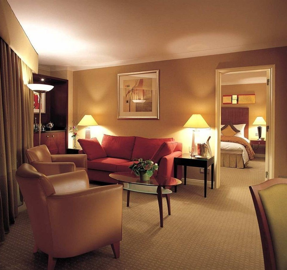 Bedroom property Suite living room home lamp condominium