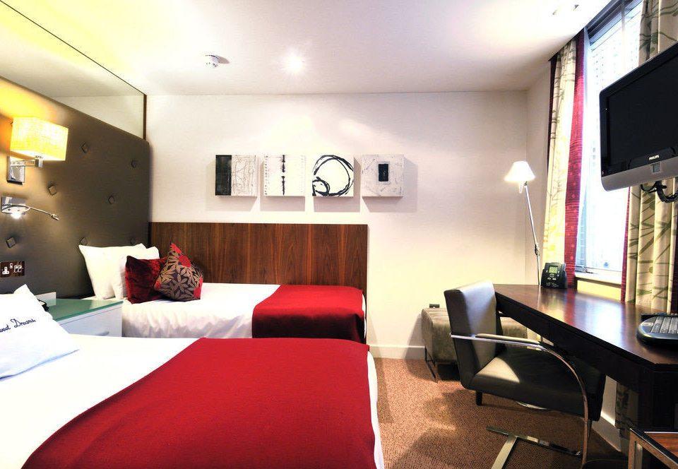 property Suite red condominium living room Bedroom