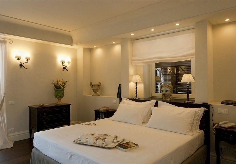 property Bedroom scene Suite condominium living room