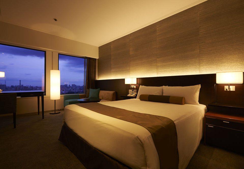 Bedroom property Suite condominium night