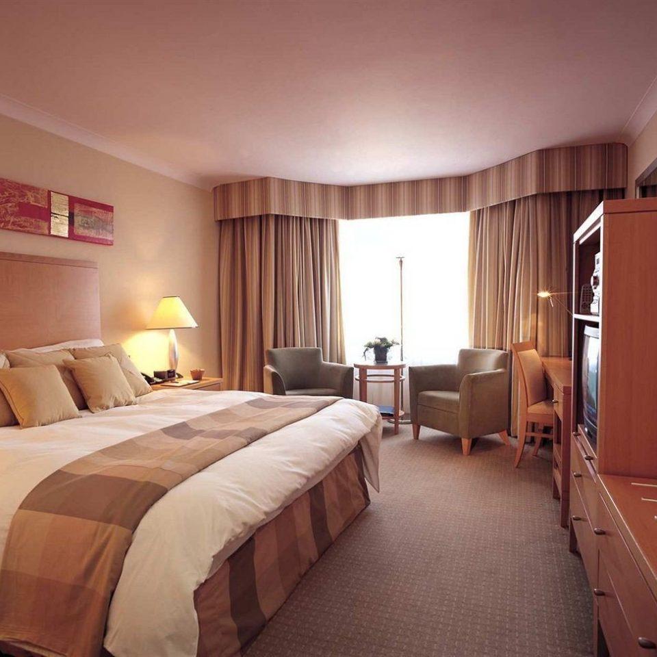 Bedroom property desk Suite cottage lamp