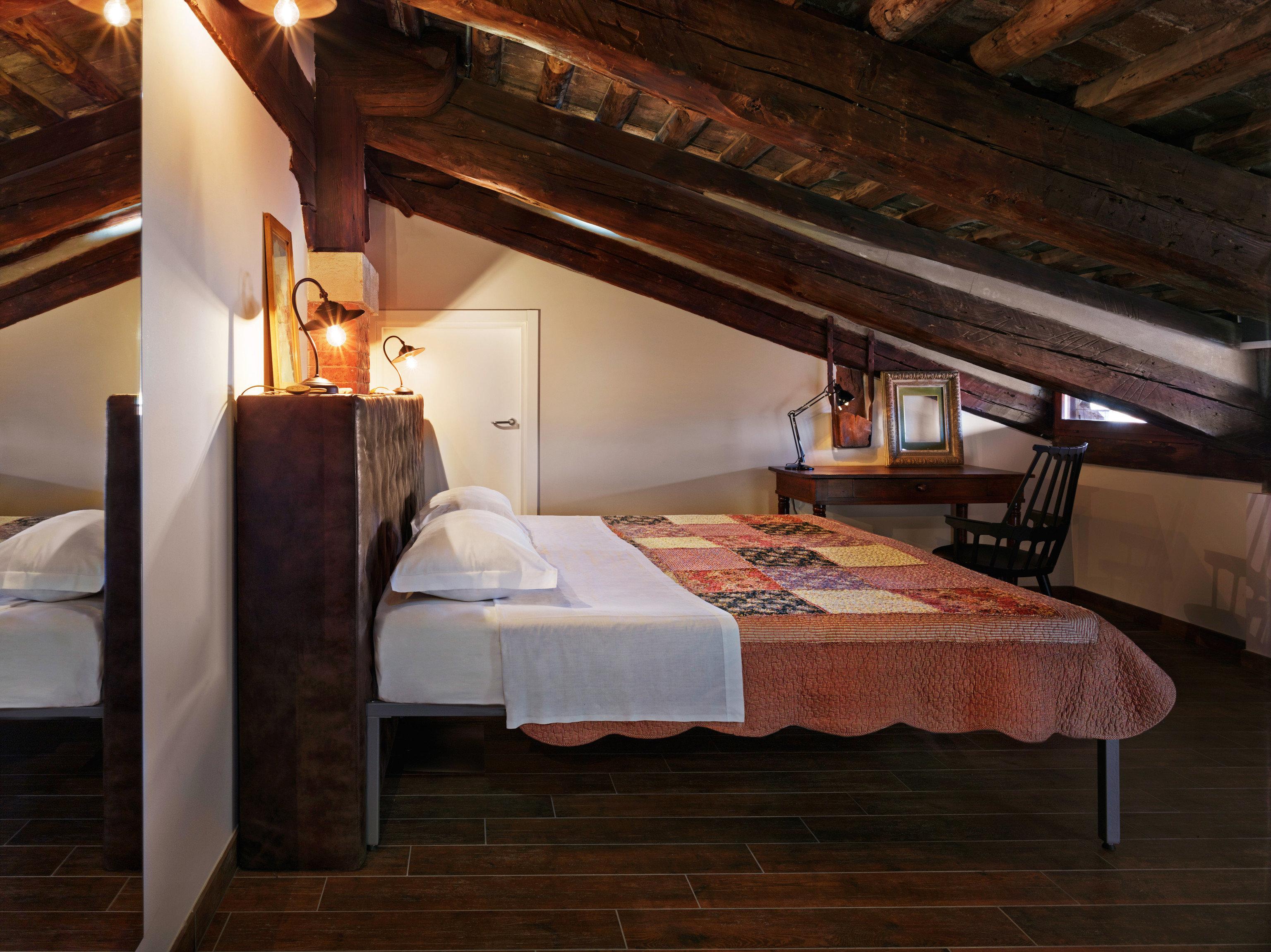 property house hardwood cottage home Suite Bedroom living room wood flooring loft farmhouse