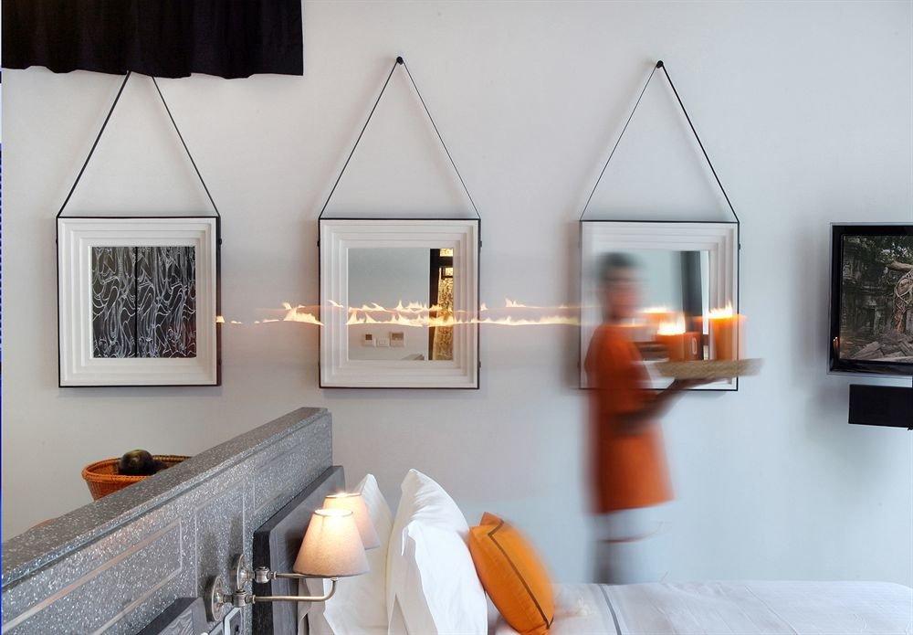 property house home living room cottage lighting orange pillow farmhouse Suite Bedroom