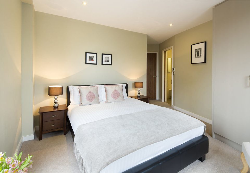 Bedroom property scene Suite cottage flat