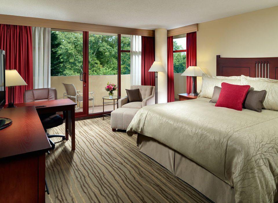 sofa Bedroom property Suite living room home hardwood cottage lamp flat