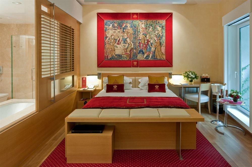 property red living room Suite home recreation room cottage flooring Bedroom