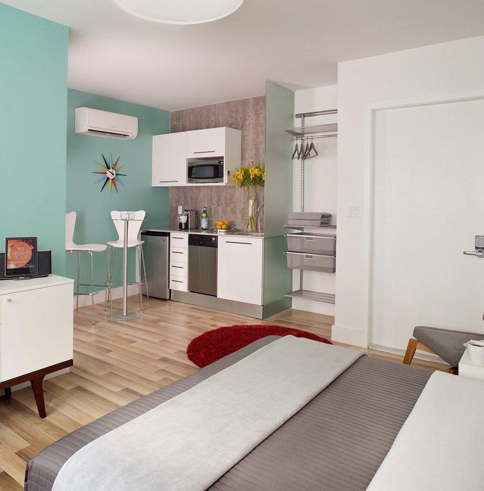 property Bedroom green living room home cottage Suite