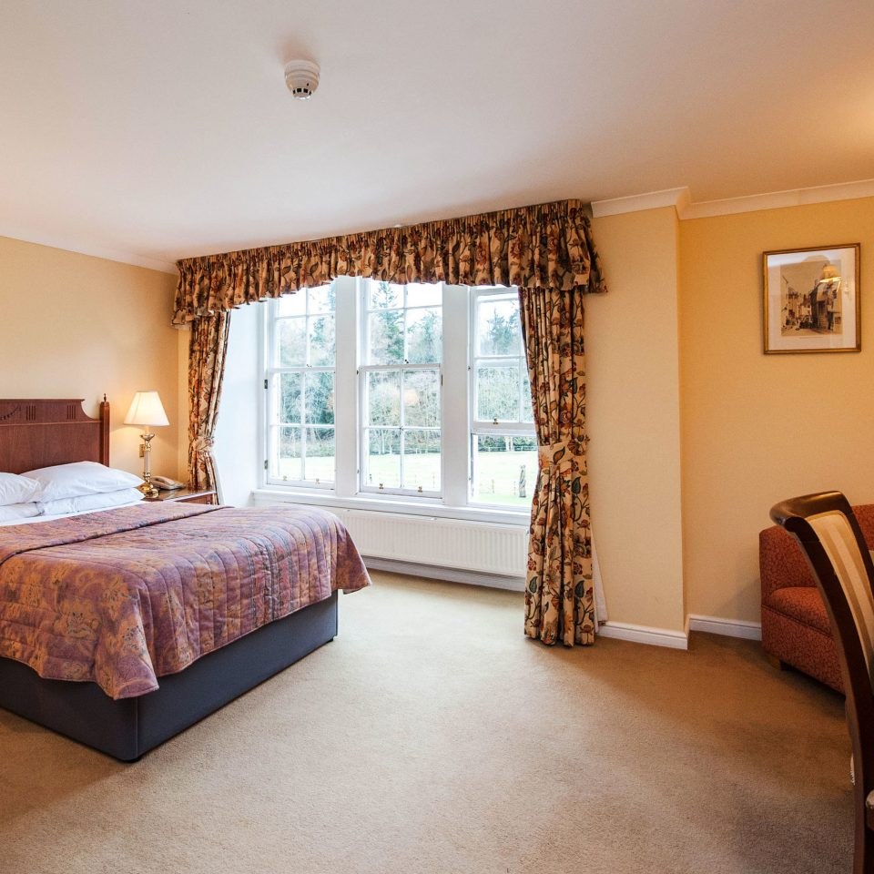 property Bedroom Suite cottage home hardwood living room