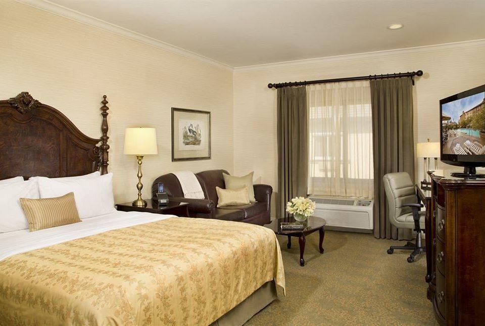 Bedroom property Suite home cottage hardwood living room