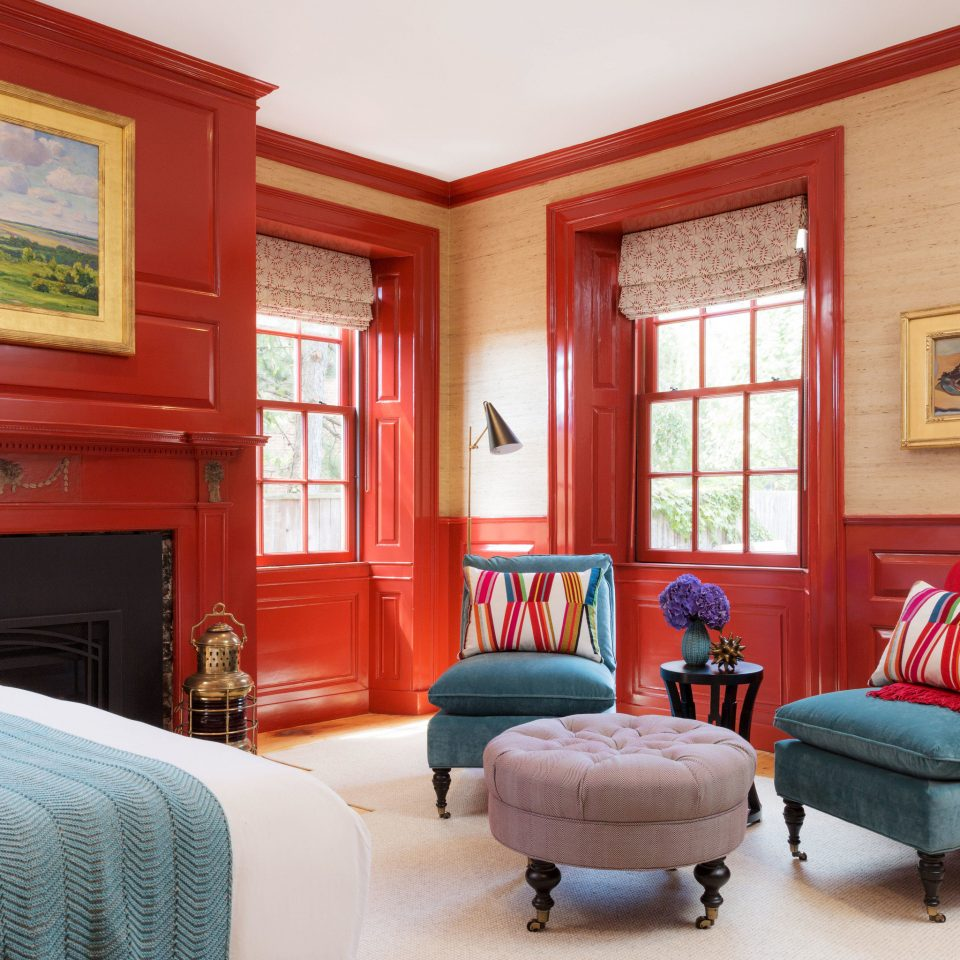 sofa living room property red home Bedroom house Suite cottage