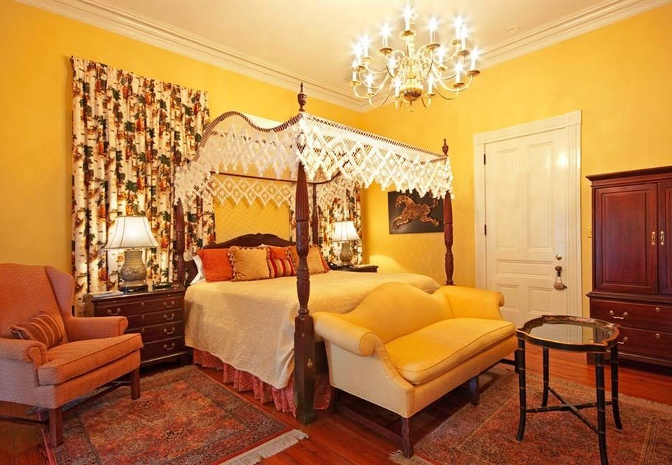 property living room Bedroom Suite yellow home cottage