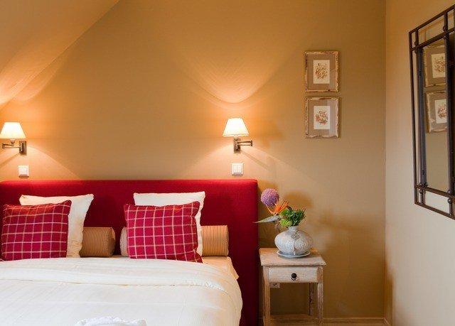 property Bedroom red home living room cottage Suite