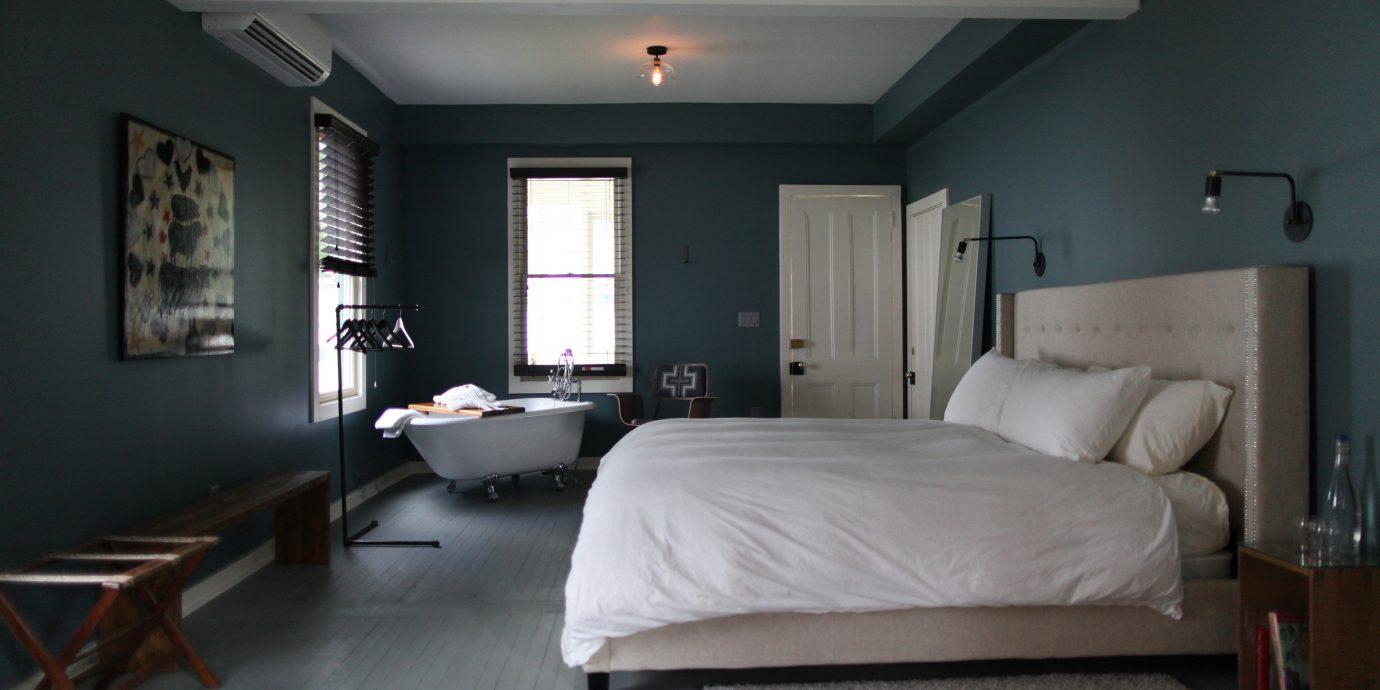 property Bedroom living room white home Suite cottage loft