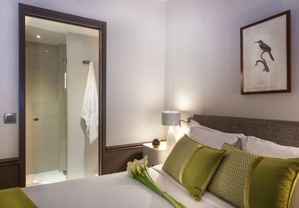 property Bedroom scene Suite cottage tan
