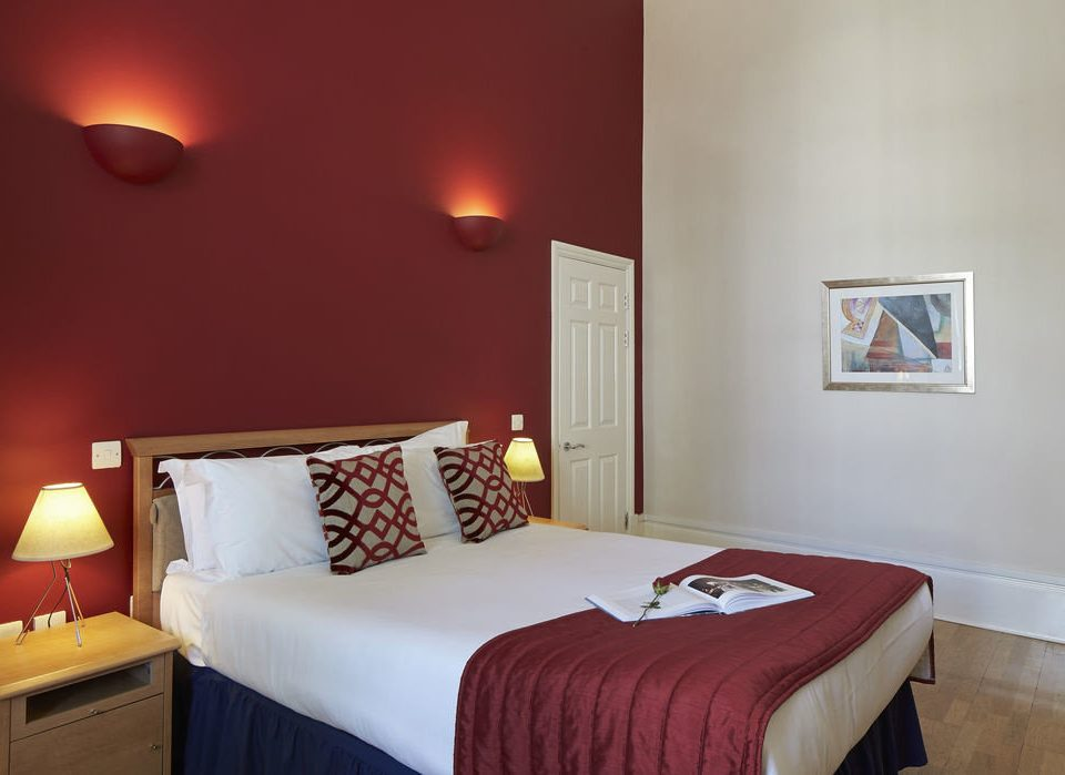 Bedroom property red cottage Suite