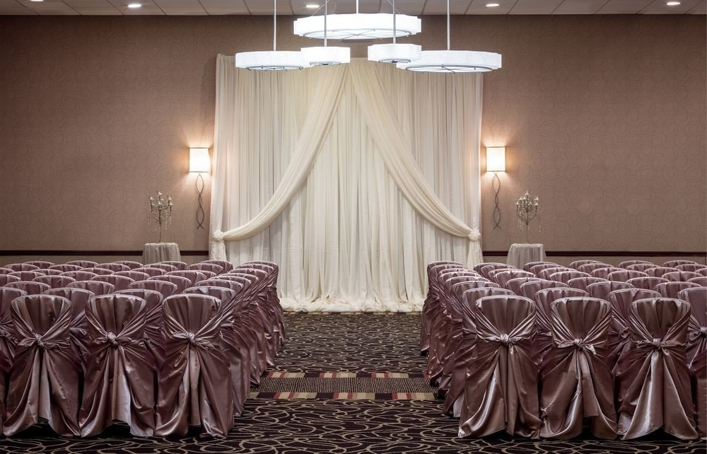 curtain textile lighting window treatment Suite function hall material decor Bedroom