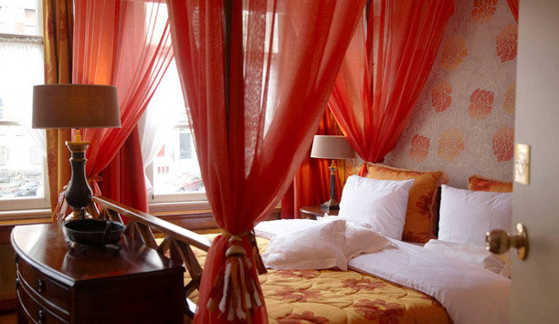 curtain Bedroom Suite textile window treatment four poster
