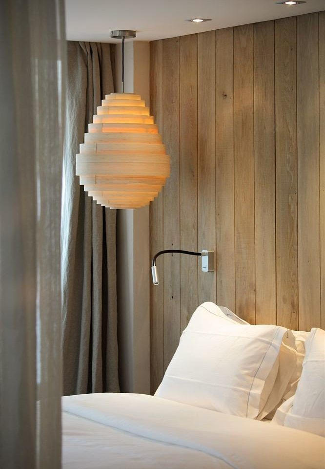 Bedroom curtain lighting Suite pillow light fixture