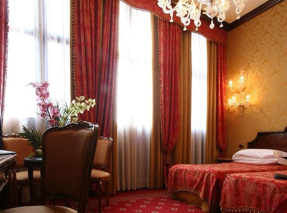red property Suite curtain living room window treatment Bedroom