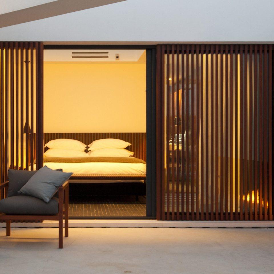 property Bedroom Suite home living room door
