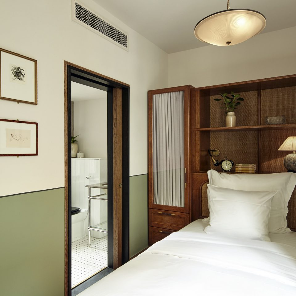 Bedroom home door white Suite house