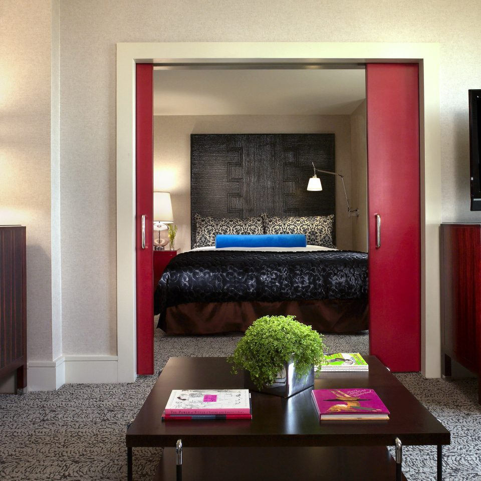 Bedroom Suite living room property red home house flat