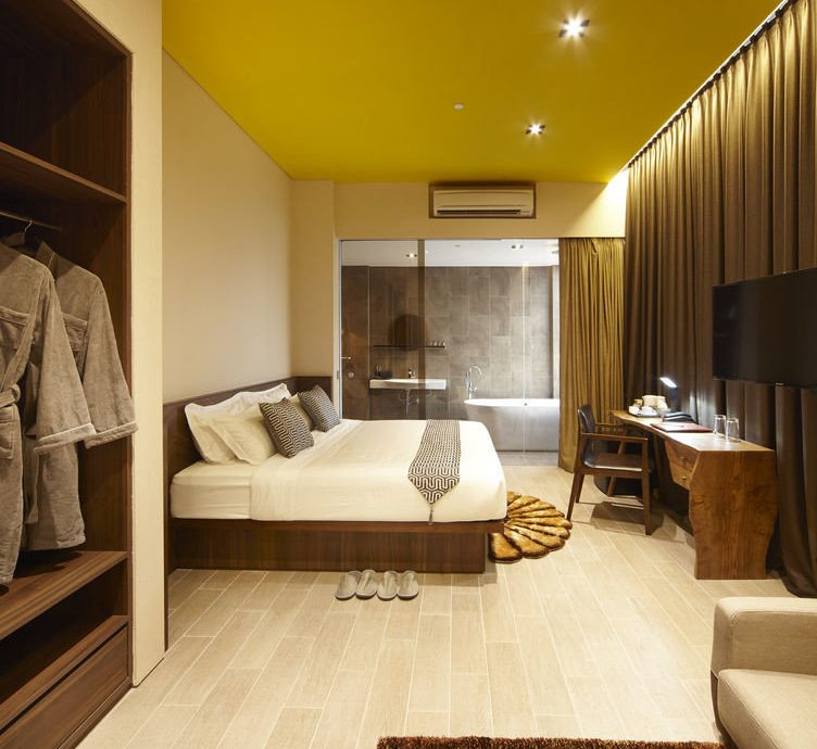 property living room hardwood home Suite yellow Bedroom wood flooring flooring