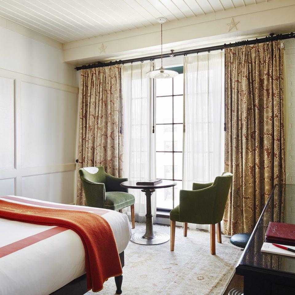 Suite Bedroom flooring interior designer window treatment