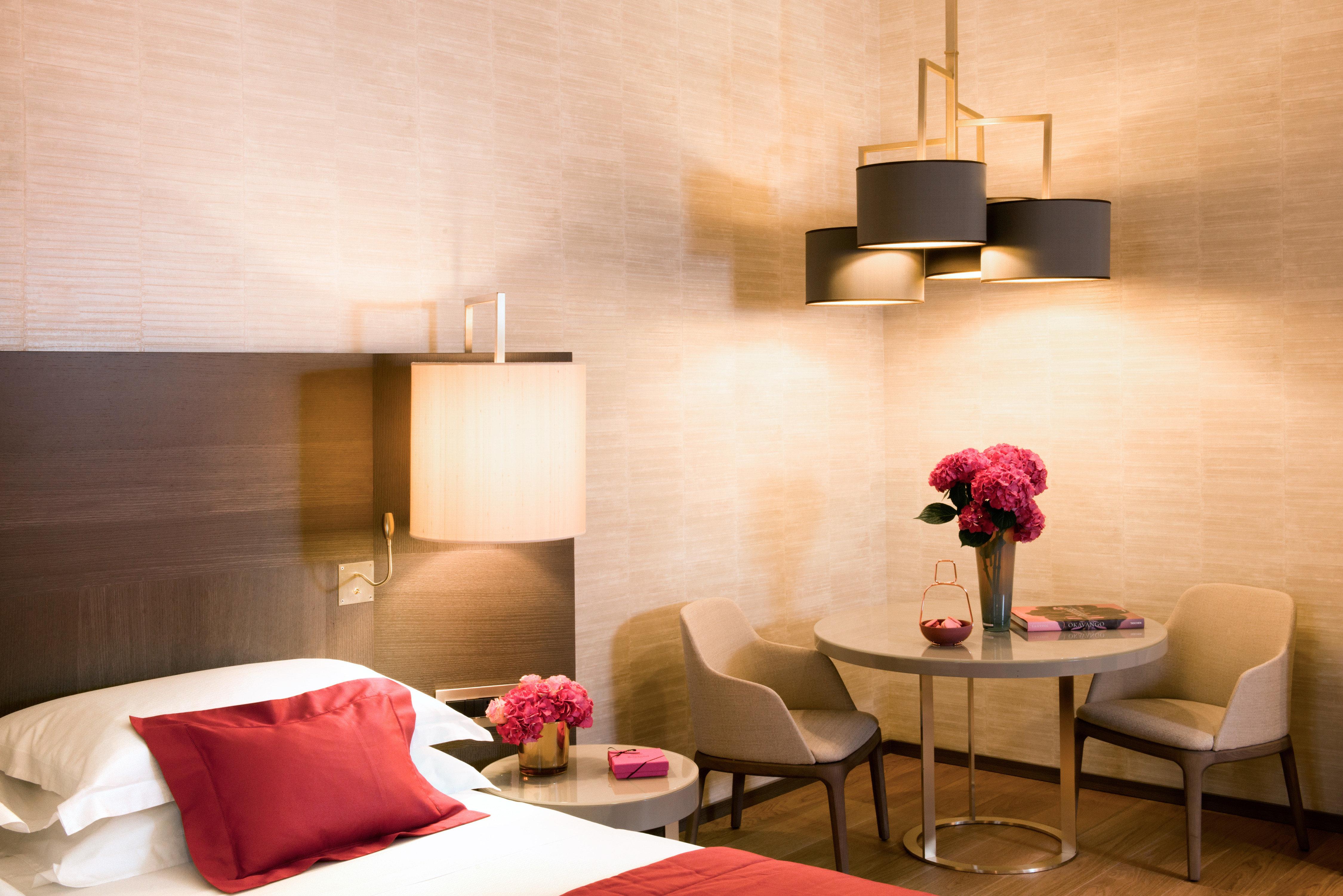 Bedroom red property Suite living room lighting lamp