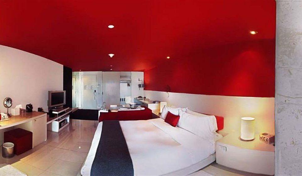 red property Suite lighting living room Bedroom