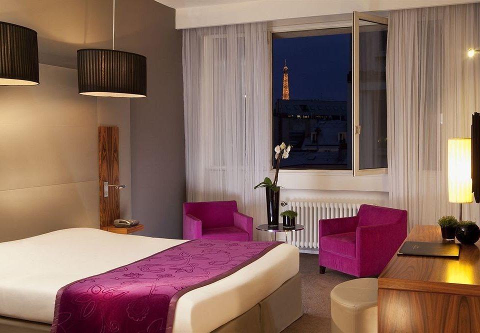 purple property Suite pink Bedroom living room