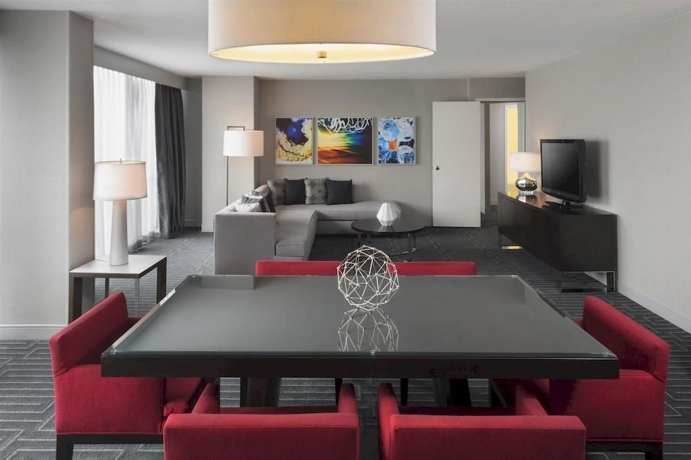 red property living room recreation room Suite Bedroom