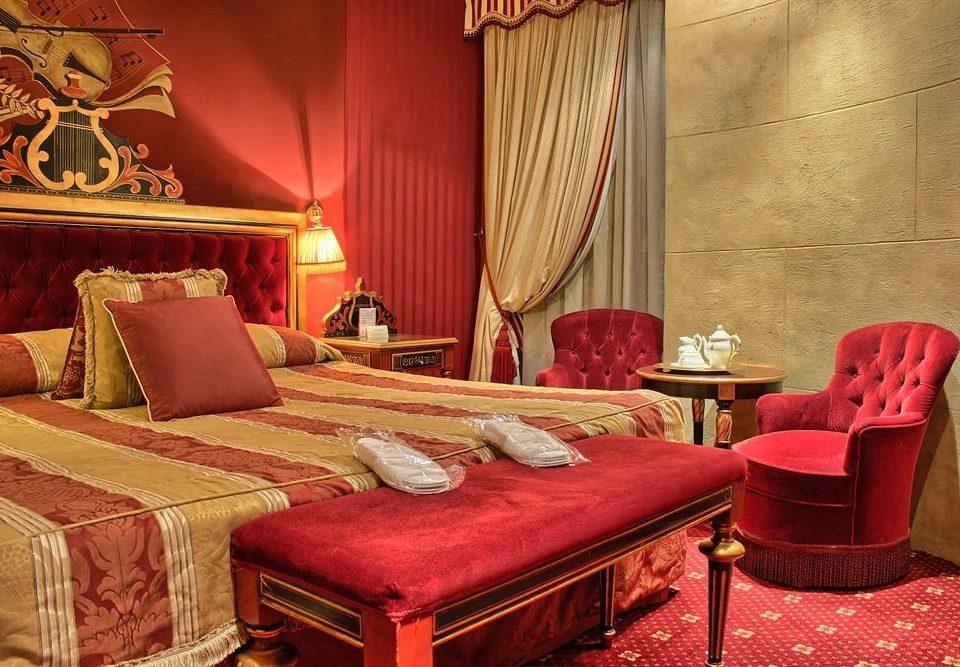 red Suite living room Bedroom