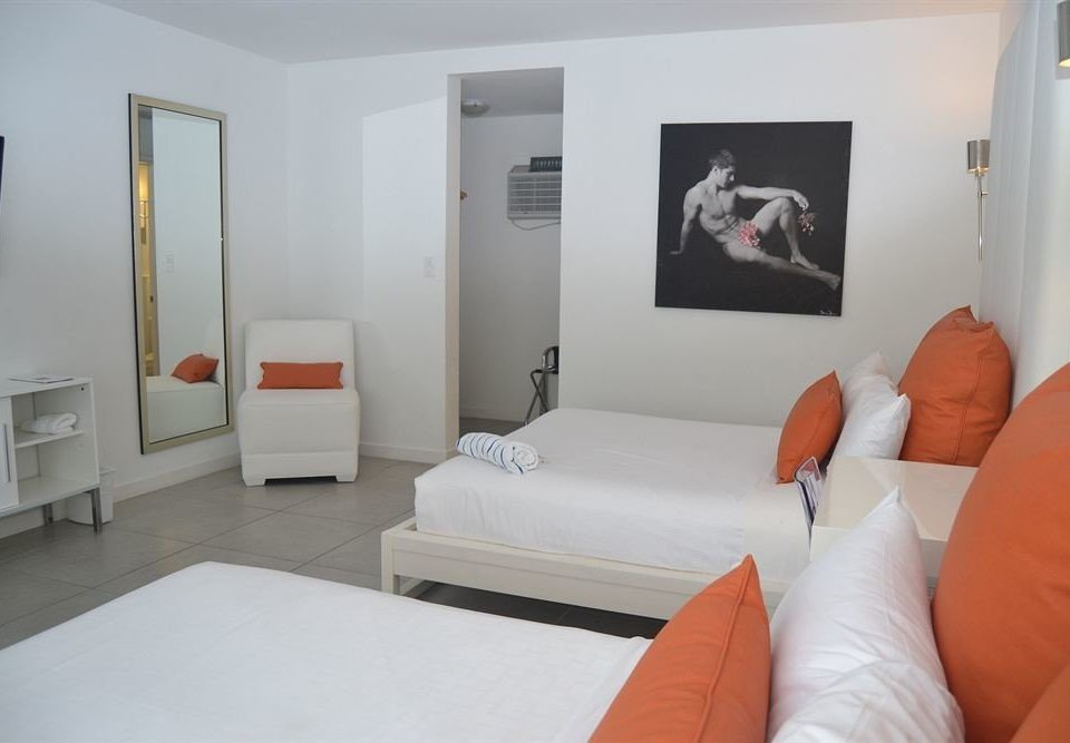 property orange white Suite Bedroom