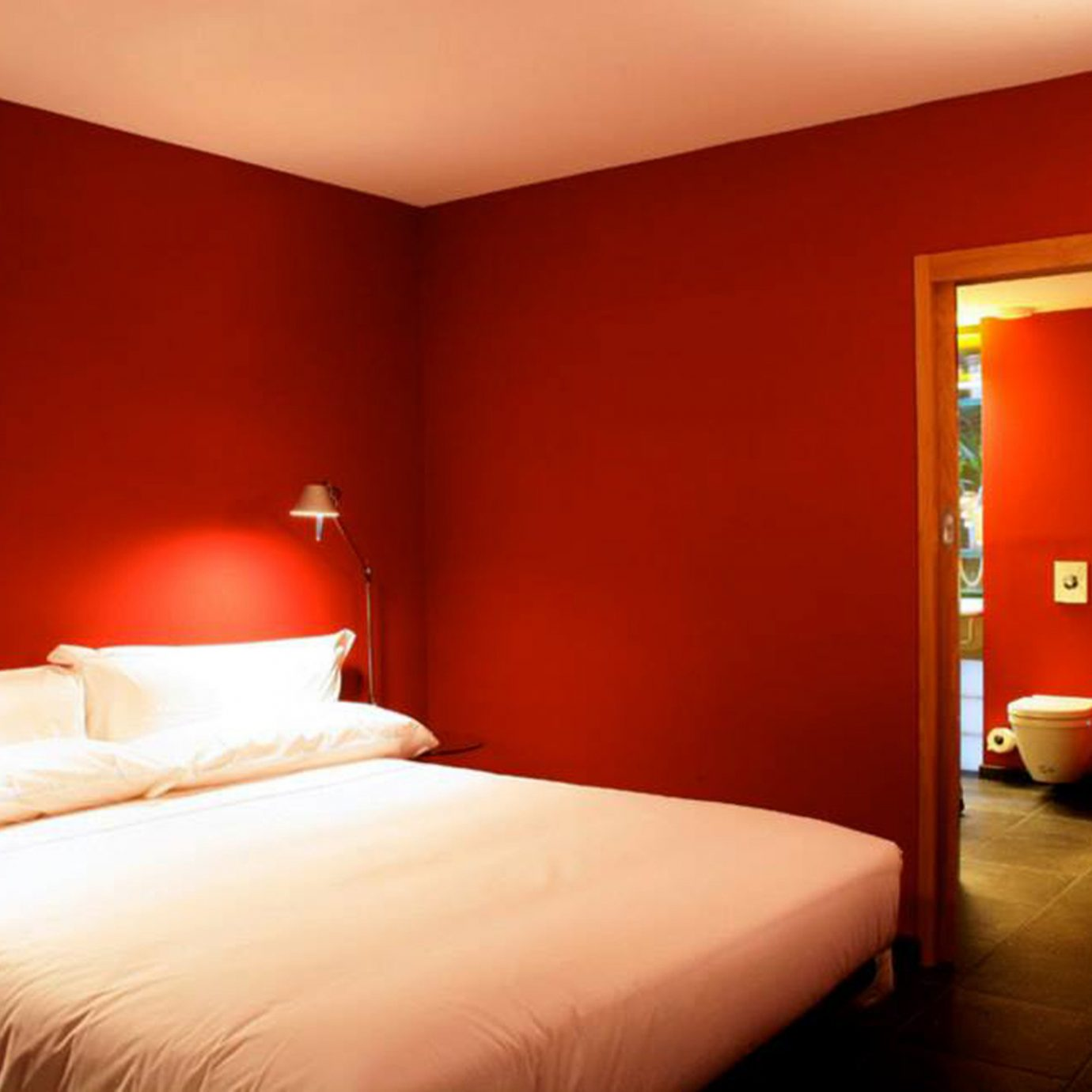 Bedroom Suite red orange