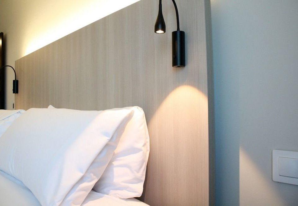 white scene Suite Bedroom pillow
