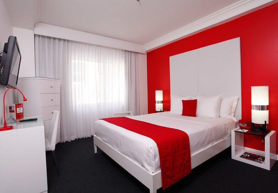 red Bedroom property Suite