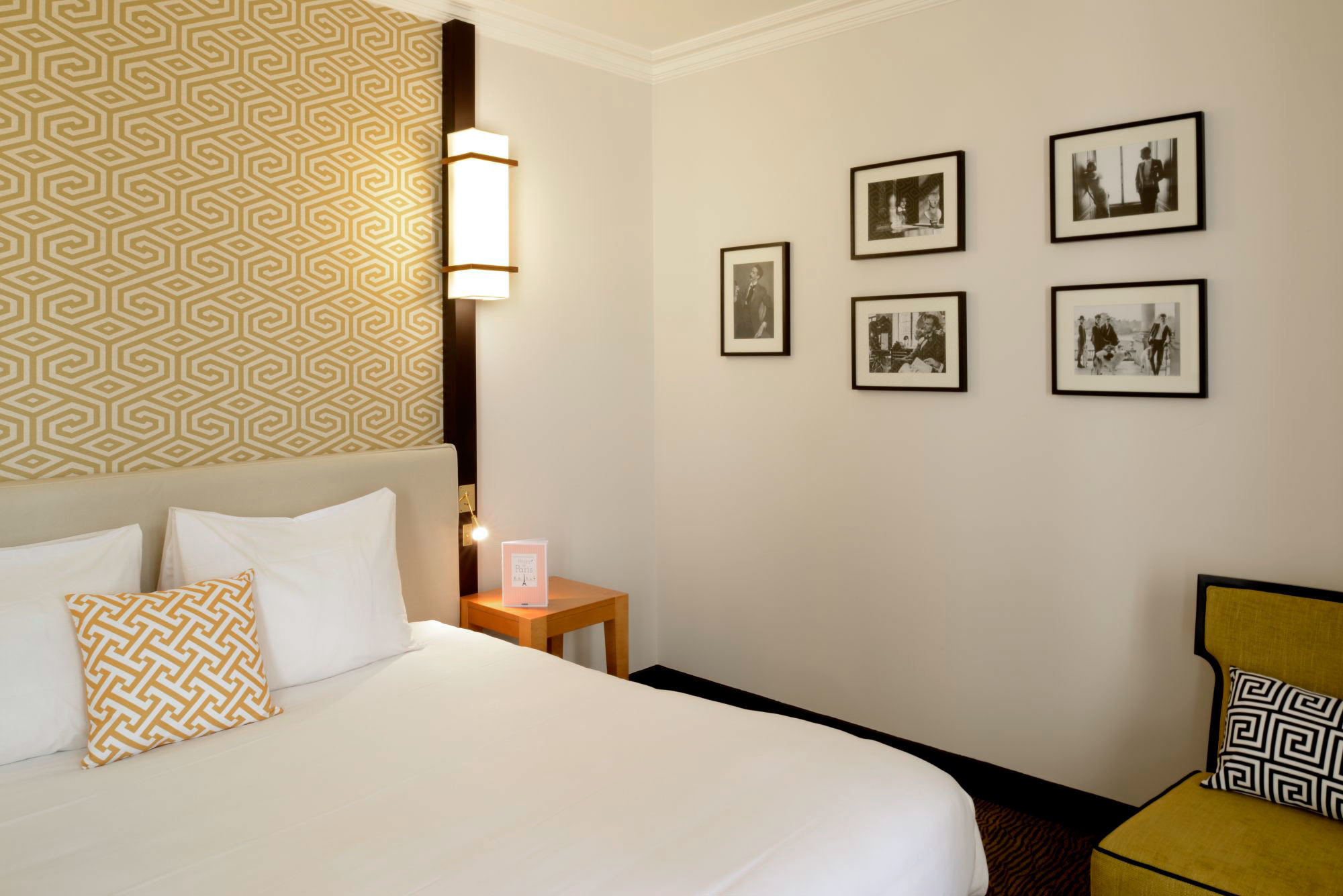 Bedroom property scene Suite white