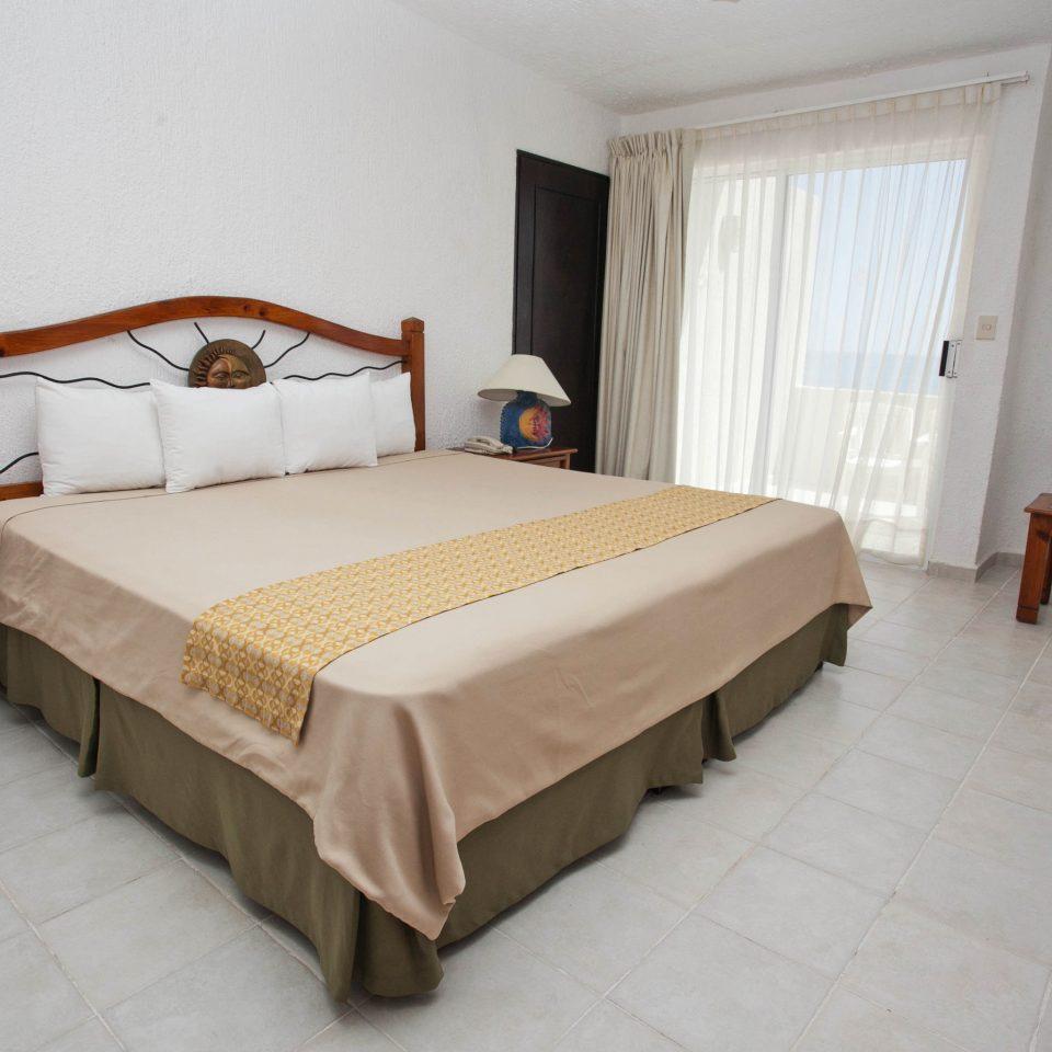 Bedroom property Suite cottage Villa bed frame tan