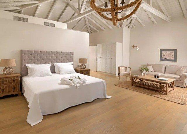 property Bedroom hardwood living room Suite cottage Villa bed frame flooring wood flooring bed sheet