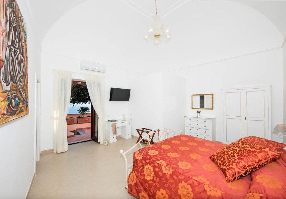 Bedroom property scene cottage red Suite Villa bed sheet