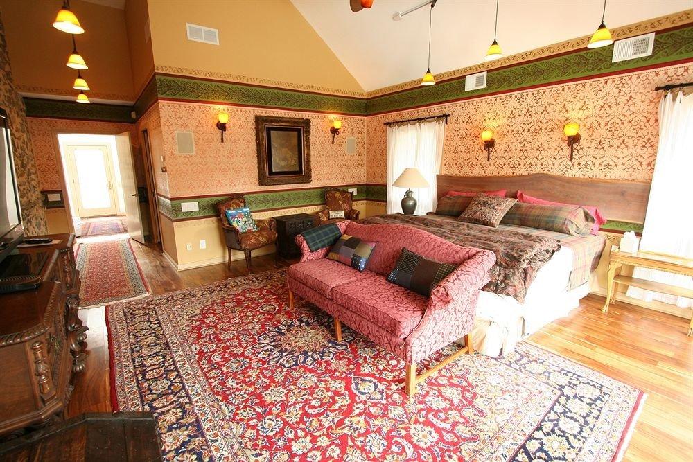 property rug cottage Suite Bedroom home mansion living room Villa bed sheet