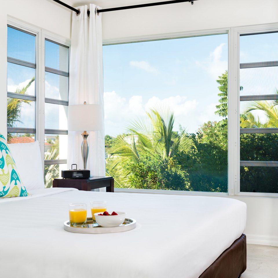 property Bedroom living room home Suite white cottage bed sheet Villa